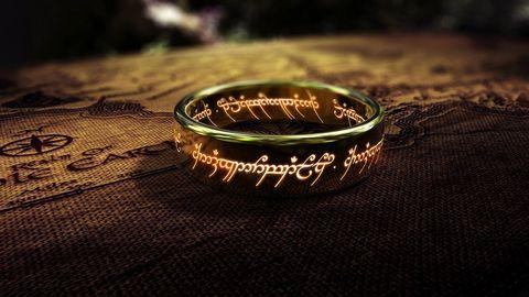 anillo de el señor de los anillos
