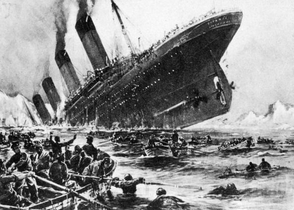 the loss of ss titanic, 14 april 1912 the lifeboats all that was left of the greatest ship in the world   the lifeboats that carried most of the 705 survivors operated by the white star line, ss titanic struck an iceberg in thick fog off newfoundland