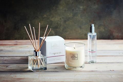 Lidl luxury candle range