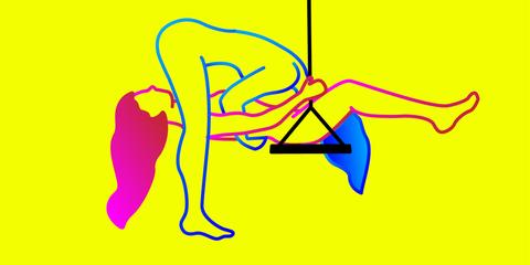 Yellow, Line art, Line, Graphics,