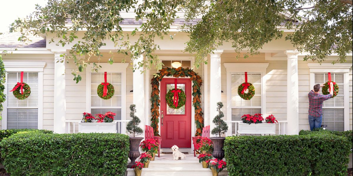 15 Ways To Decorate Your Porch For Christmas Christmas