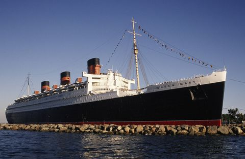 long beach's queen mary tourist attraction  hotel