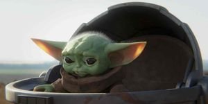 The Mandalorian Lado Oscuro Baby Yoda 1x07