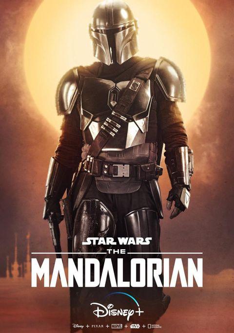 the mandalorian en disney+