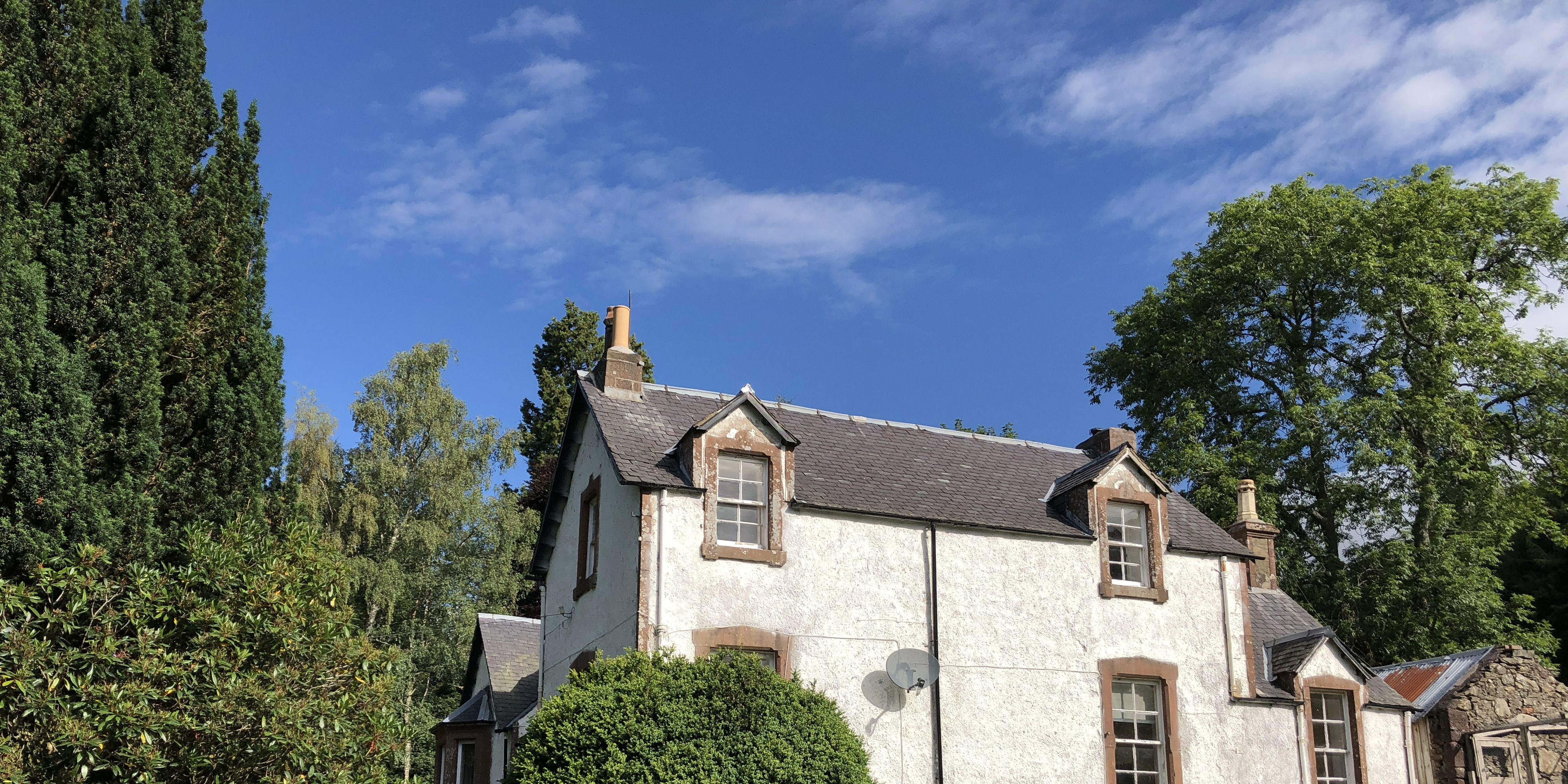 The Manse - JM Barrie - Scotland - house - Bell Ingram
