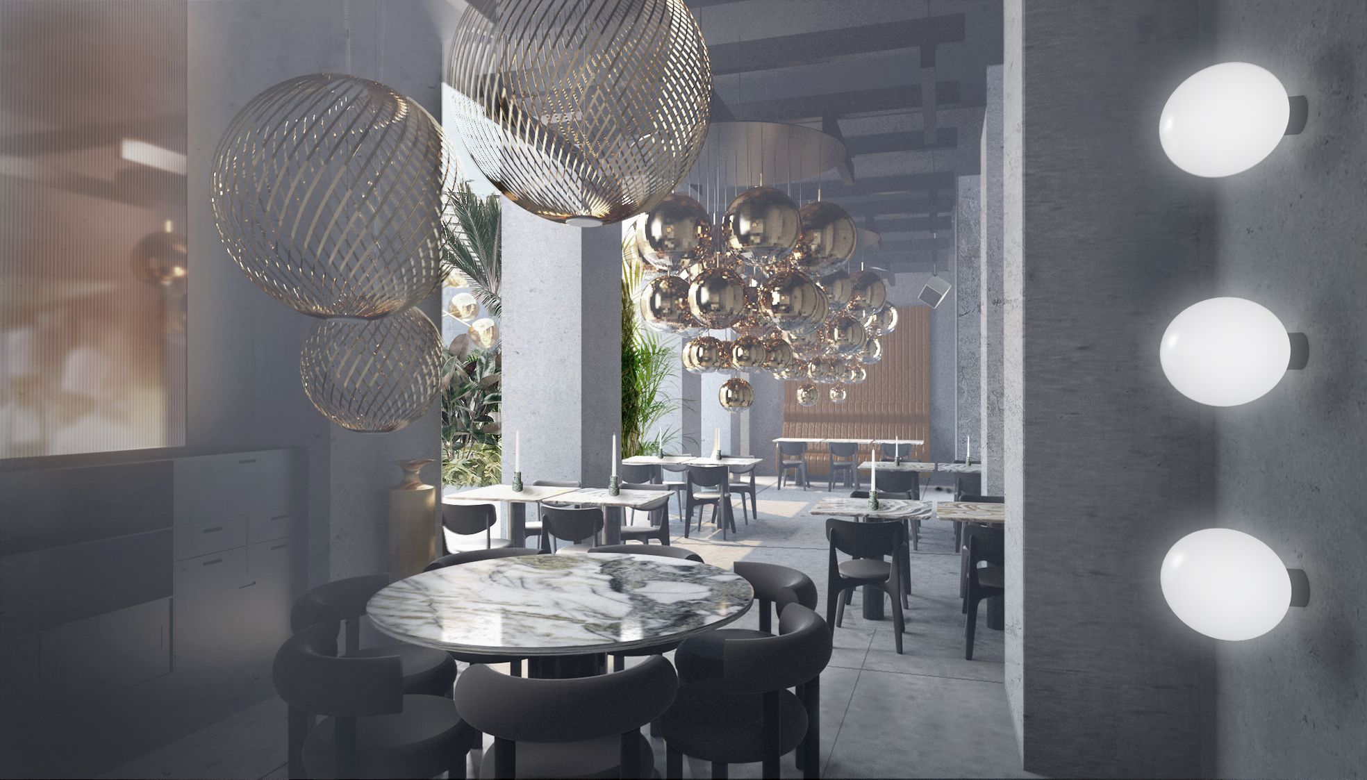 Design Per Ristoranti : Tavolo moderno in laminato rettangolare per ristorante