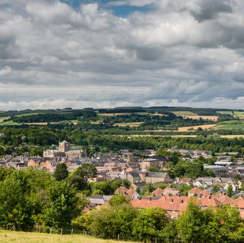 The Market Town of Hexham