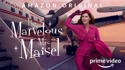 el poster de la temporada 3 de 'the marvelous mrs maisel'