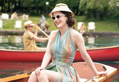 Boating, Sunglasses, Summer, Vehicle, Vacation, Eyewear, Recreation, Boat, Headgear, Leg,