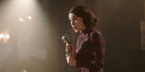 Rachel Brosnahan en 'The Marvelous Mrs. Maisel'