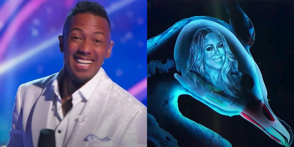 """'Masked Singer' Fans Are Freaking Out Over Nick Cannon's """"Awkward"""" Mariah Carey Moment"""