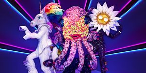 The Masked Singer, Unicorn, Daisy, Octopus