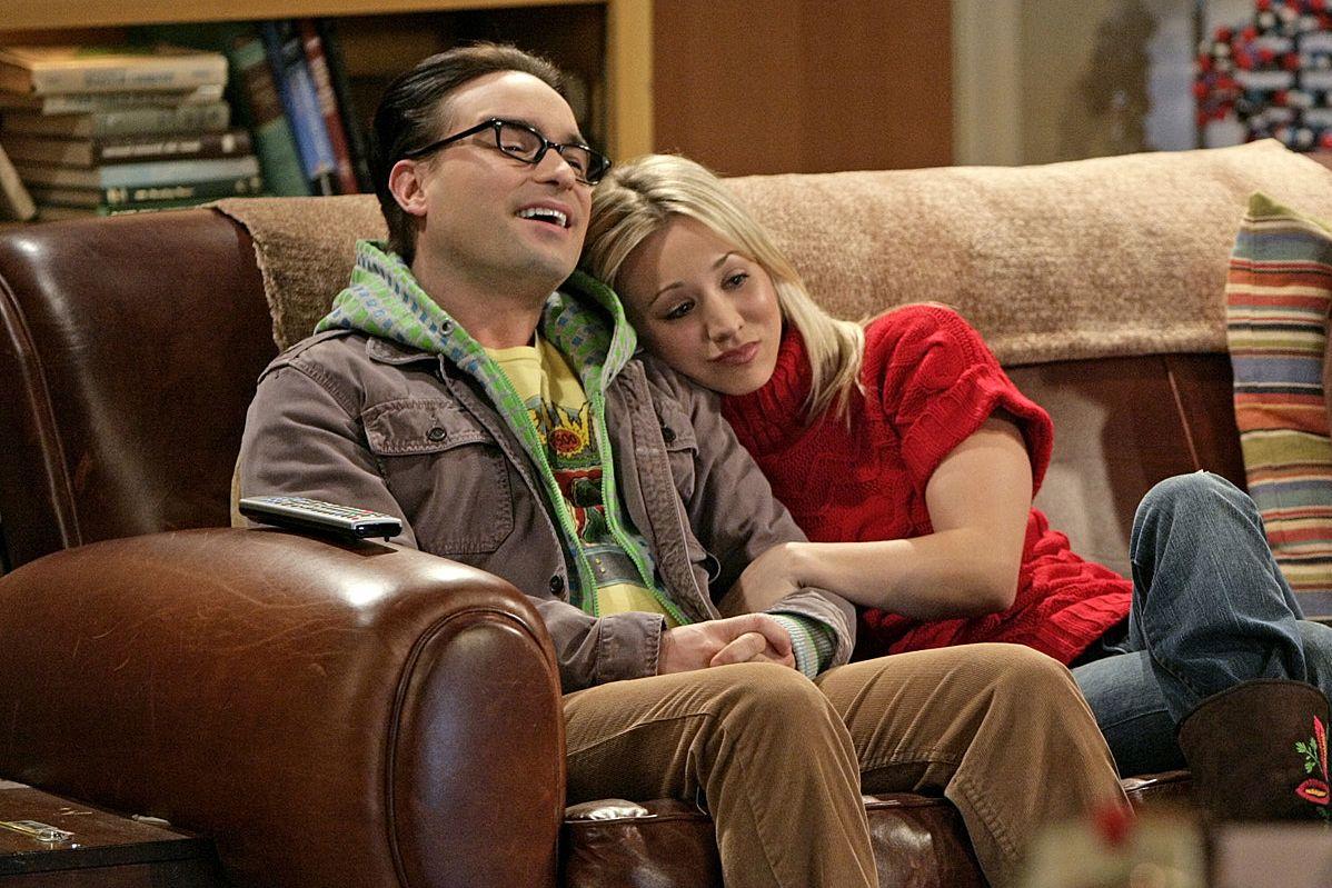 Leonard And Penny The Big Bang Theory