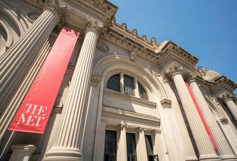 The Metropolitan Museum Of Art's Facade