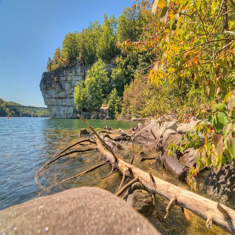 the most picturesque lake towns in the us summersville west virginia