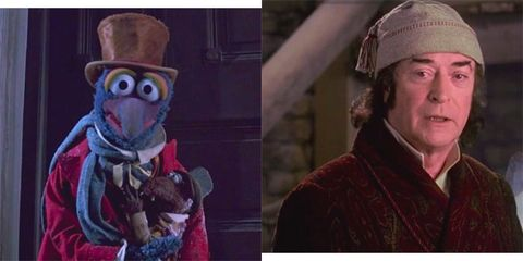 Christmas Carol Scrooge.The Muppet Christmas Carol Analysis Can Michael Caine S