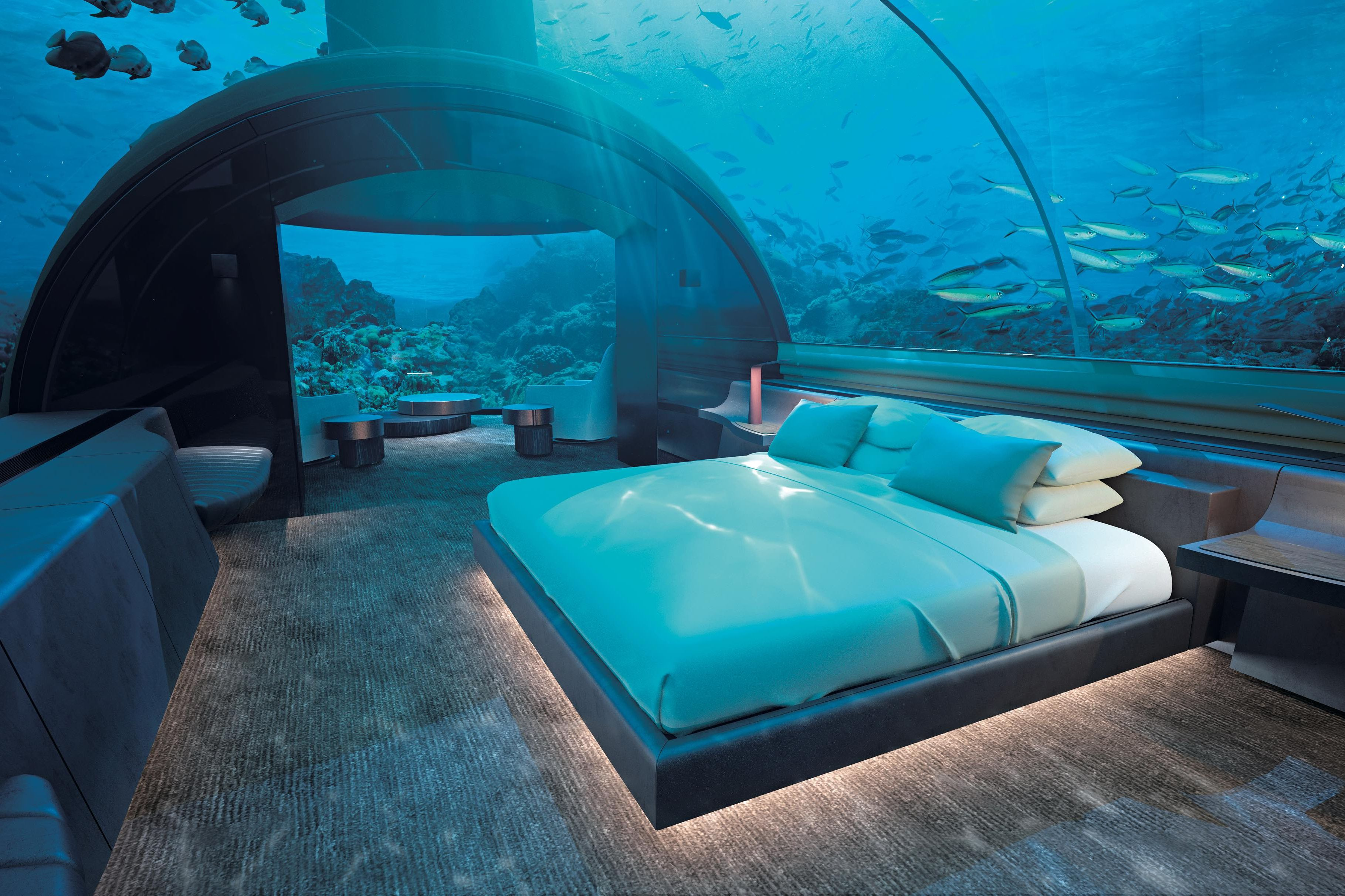 絶景 ホテル 世界 リゾート ハネムーン コンラッド・モルディブ