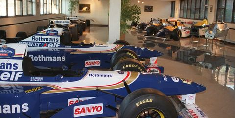 Vehículos históricos de Williams Fórmula 1
