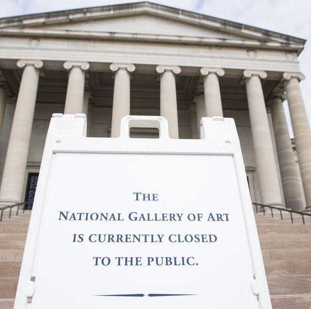 coronavirus closed museum