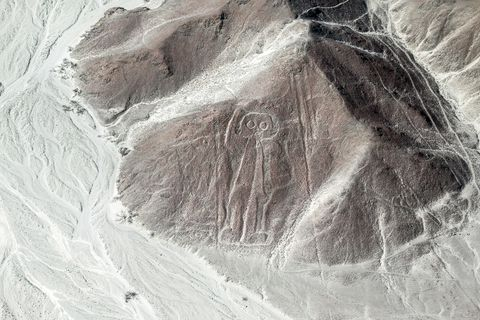 """The Nazca lines from Air - the """"Astronauta/Astronaut"""" Figure"""