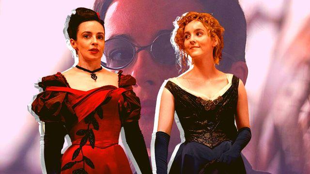 los personajes de amalia true y penance en una escena de la serie de hbo the nevers