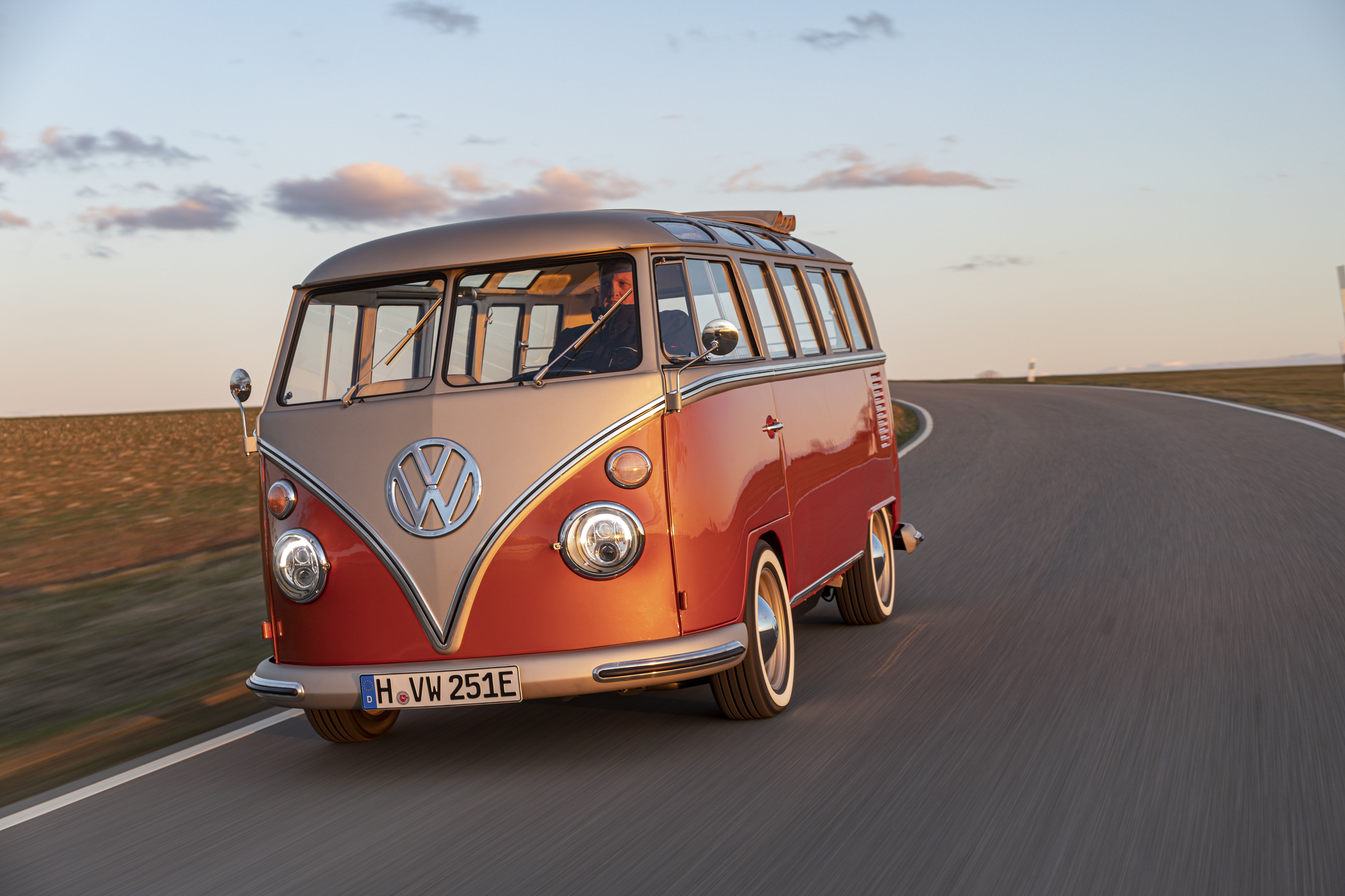 VW Microbus EV Conversion Merges Powertrain Tech With Old-School Cool
