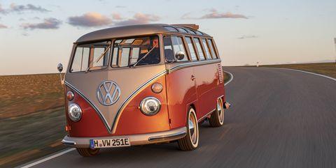 Land vehicle, Car, Motor vehicle, Vehicle, Volkswagen type 2, Mode of transport, Van, Samba, Transport, Automotive design,