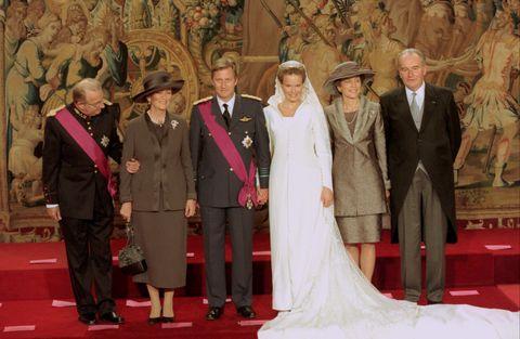 wedding of philippe and mathilde