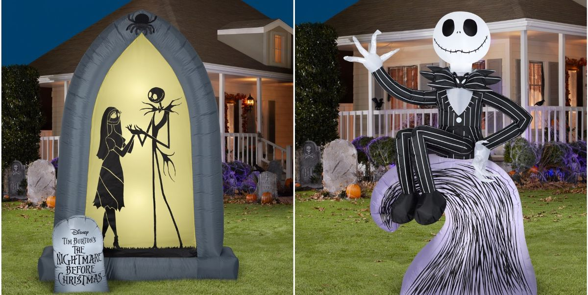 Walmart Is Selling the Best 'Nightmare Before Christmas' Inflatables For Your Yard