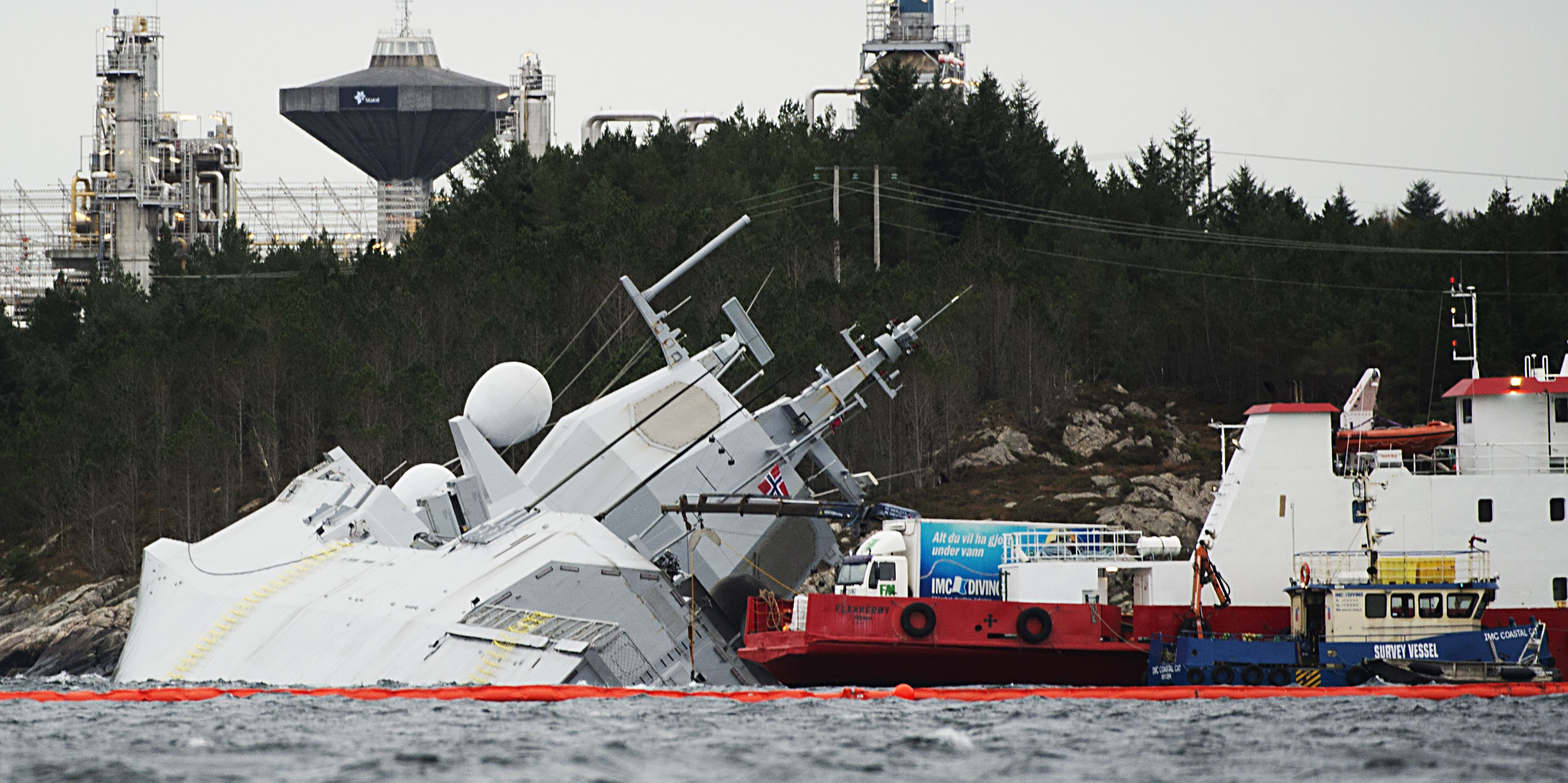 NORWAY-NAVY-ACCIDENT