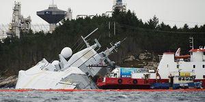 NORWAY-NAVY-ACCIDENT