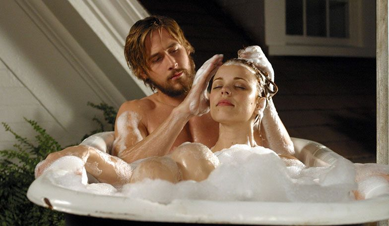 the notebook bathtub scene allie and noah