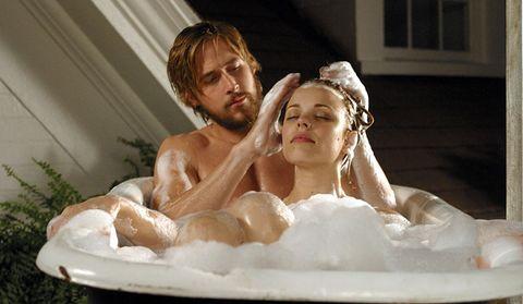the notebook bathtub scene allie and noah