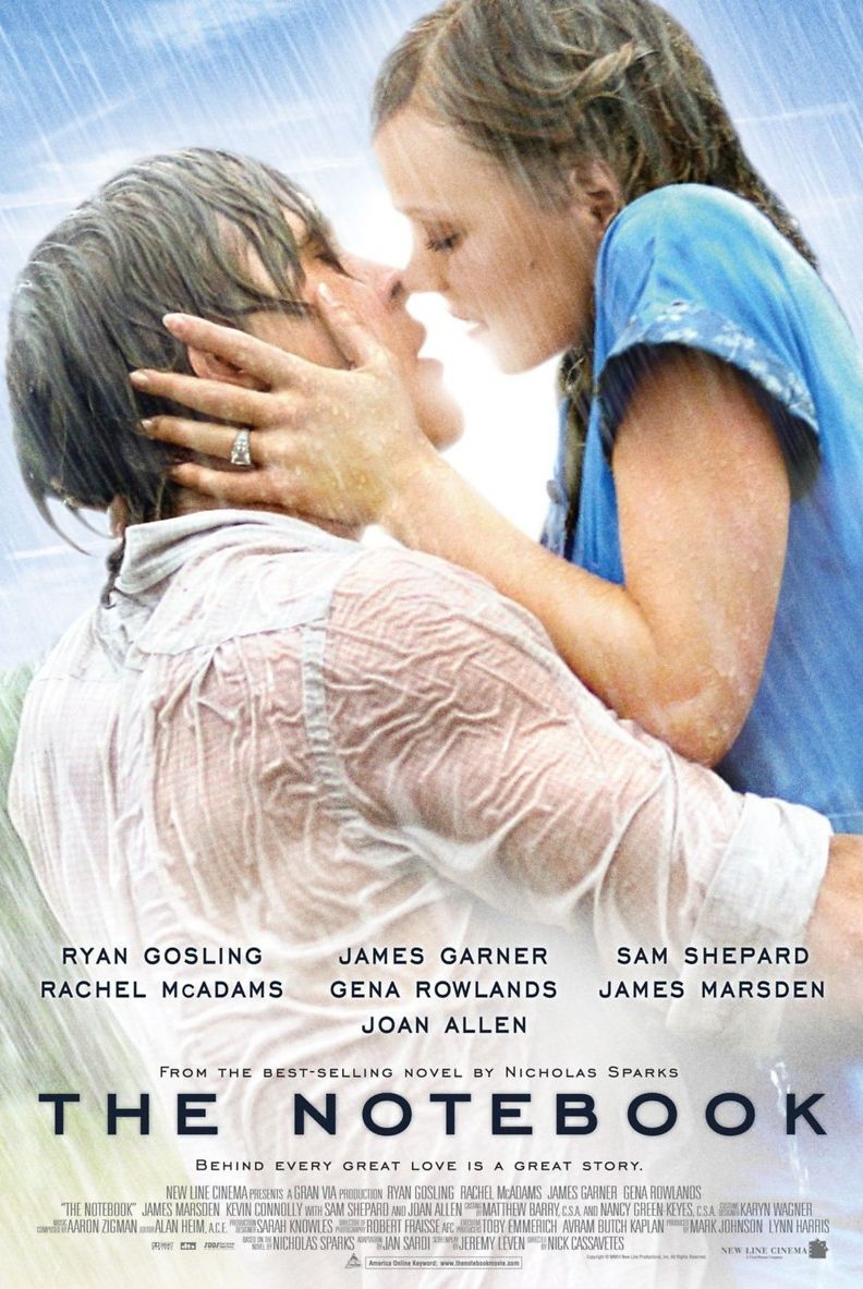 Valentine's Day movies the notebook