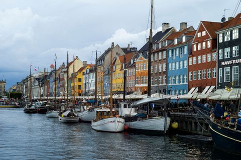 The Nyhavn Canal Copenhagen, Denmark