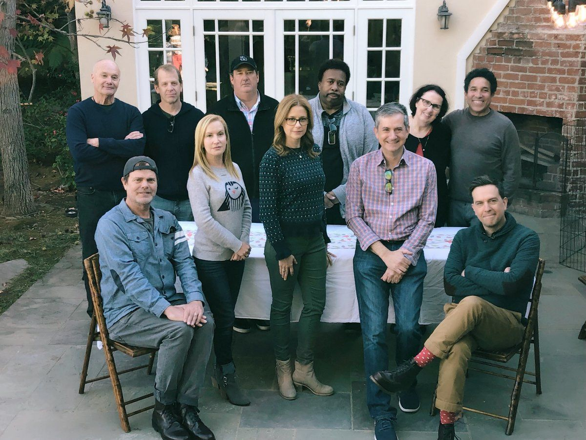 The Office\' Cast Holiday Reunion 2018