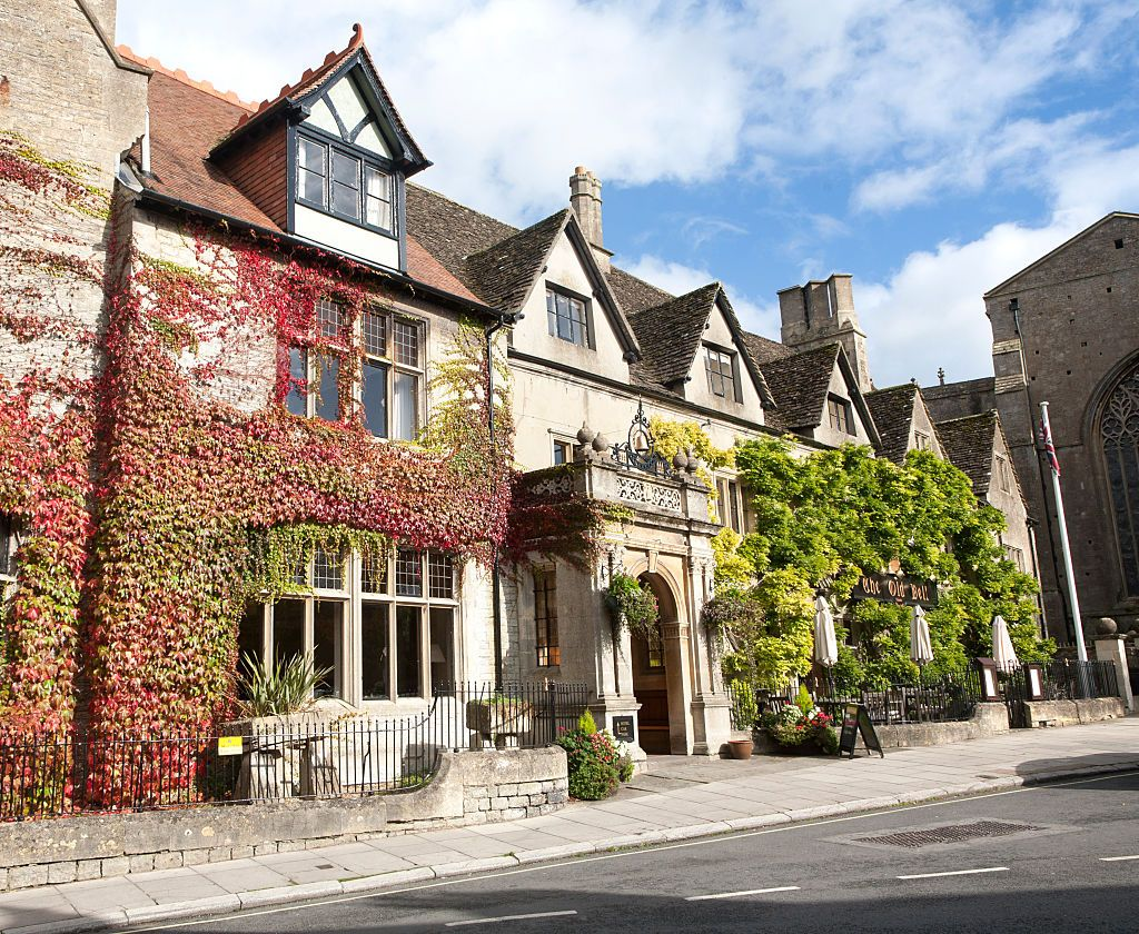 The Old Bell hotel Malmesbury, Wiltshire, England reputedly