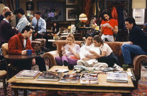 Friends - Season 1主要演員、場景