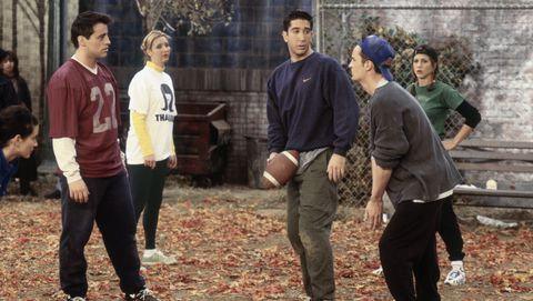 "Best ""Friends"" Thanksgiving Episodes - The One With the Football"