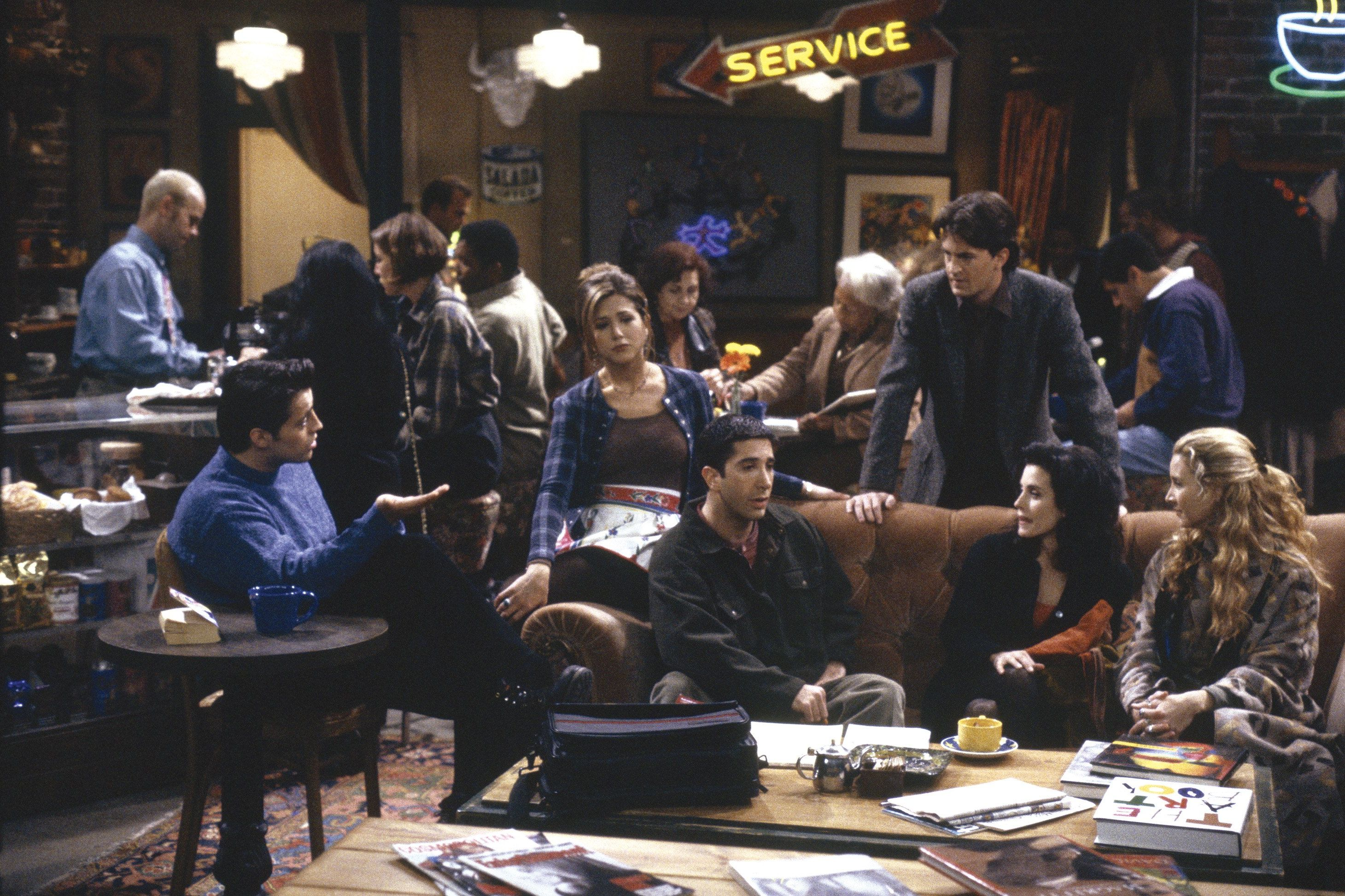 41 Photos From the Set of 'Friends' You've Probably Never Seen Before