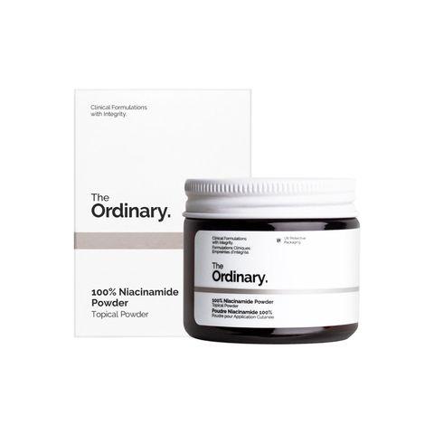 the ordinary 100 niacinamide powder serum poeder huidverzorging duurzaam skincare dames