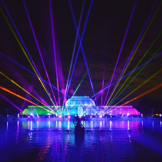 preview of the illuminated installations of christmas at kew