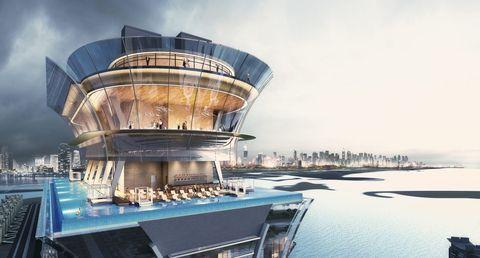 Dubai tendrá una de las intinify pools más altas del mundo