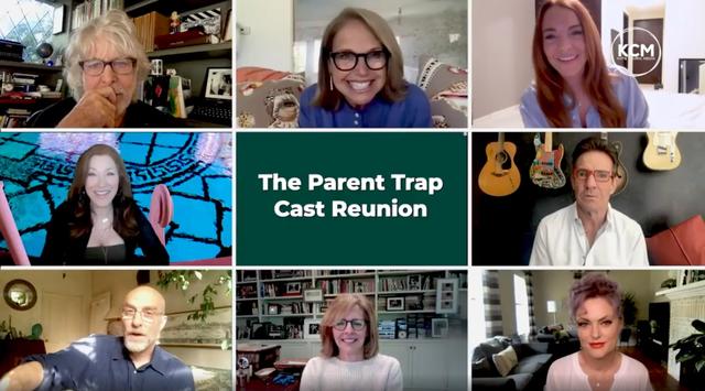 the parent trap cast reunion