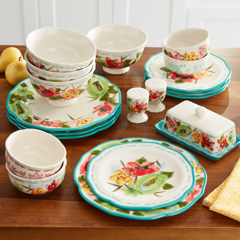 The Pioneer Woman Dinnerware Set Sale At Walmart Where To Buy The Pioneer Woman Dinnerware Sets