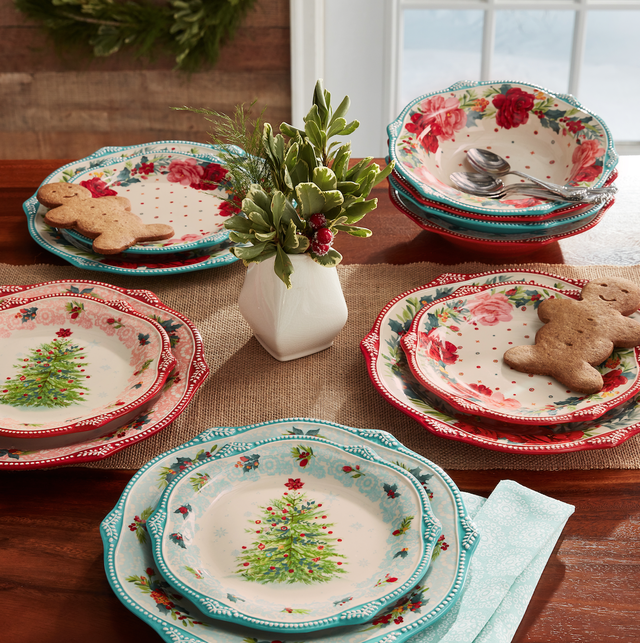 the pioneer woman holiday dinnerware