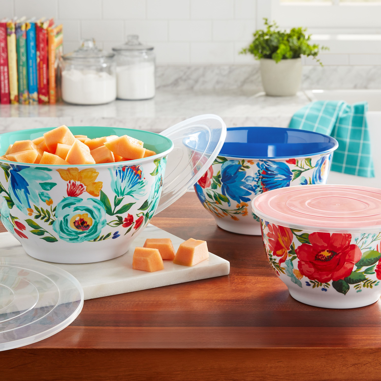 The Pioneer Woman Melamine Dinnerware Sets At Walmart