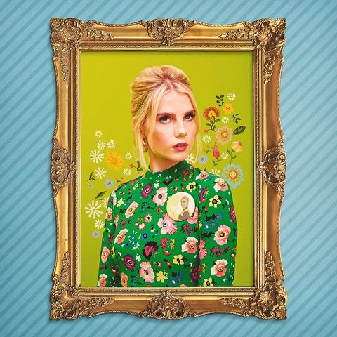 Green, Picture frame, Art, Visual arts, Floral design, Fawn, Interior design, Style, Illustration,