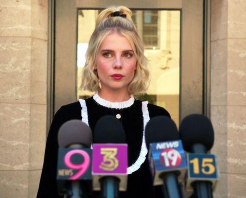 The Politician- Lucy Boynton-Netflix