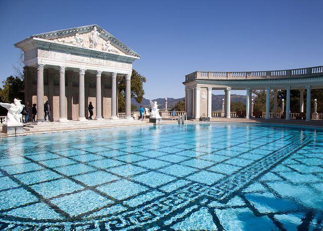 hearst castle roman pool neptune pool
